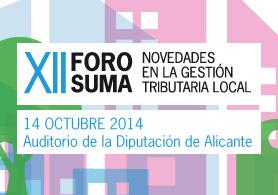 XII Foro Suma Alicante 2014