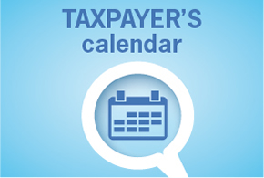 Taxpayer schedule